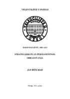 prikaz prve stranice dokumenta STRATEGIJSKI PLAN PERMANENTNOG OBRAZOVANJA