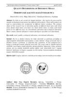 prikaz prve stranice dokumenta Određivanje kakvoće različitih krupica