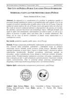 prikaz prve stranice dokumenta Simbolika naziva javnih prostora grada Požege