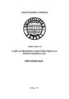 prikaz prve stranice dokumenta UTJECAJ PROMJENA NABAVNIH CIJENA NA POSLOVNI REZULTAT