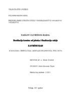 prikaz prve stranice dokumenta DESTILACIJA KOMINE OD JABUKA I FINALIZCAIJA RAKIJE